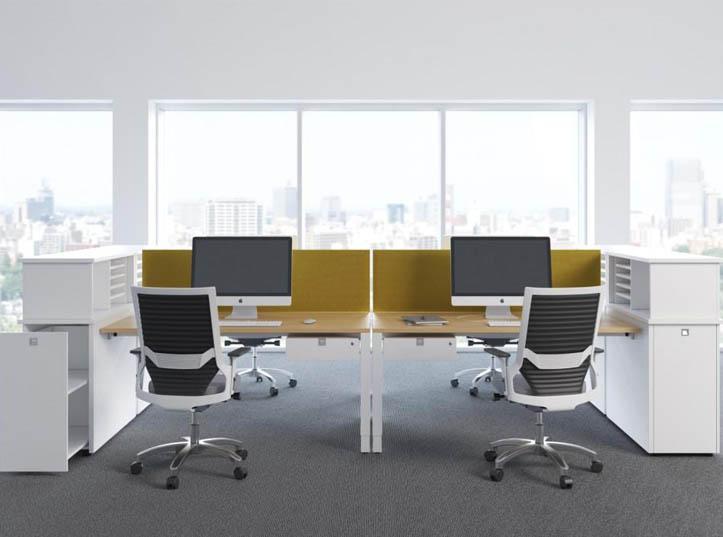 22. System mebli biurowych UNA - Meble biurowe
