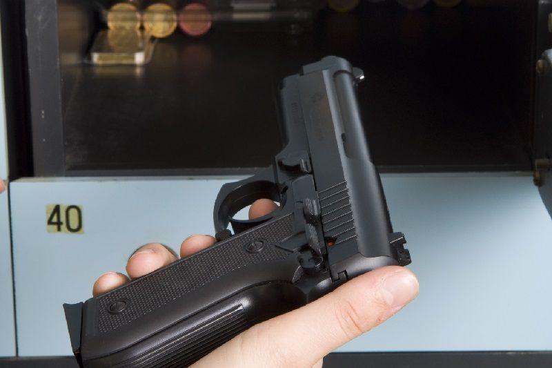 skrytka na broń
